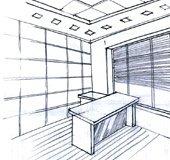 Замер помещения, создание дизайн-проекта, заключение договора